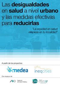 Las desigualdades en salud a nivel urbano y las medidas efectivas para reducirlas / Proyectos Medea e IneqCities